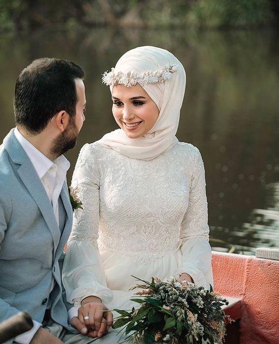 لفة عروس بتاج ورد