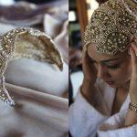 لفات طرحة العروس المحجبة لتبدو لفة-عروس-ذه