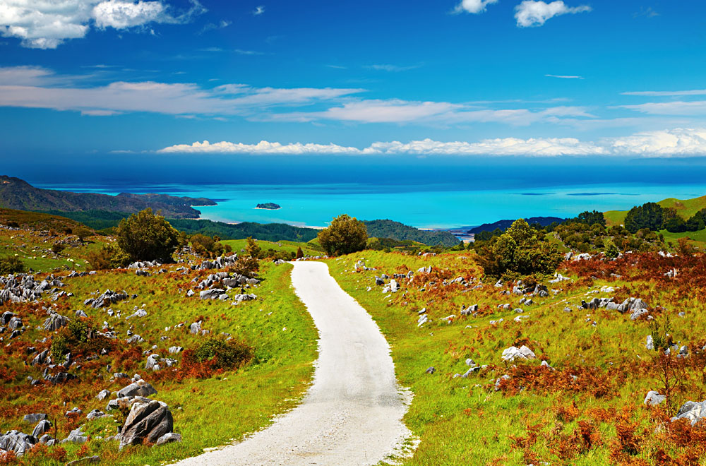 أفضل 10 مناطق للجذب السياحي في نيوزيلندا Abel-Tasman-National-Park