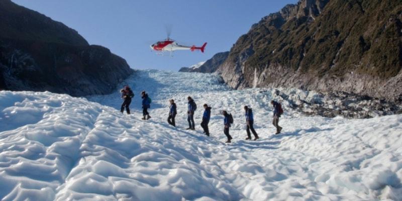 أفضل 10 مناطق للجذب السياحي في نيوزيلندا Franz-Josef-Glacier