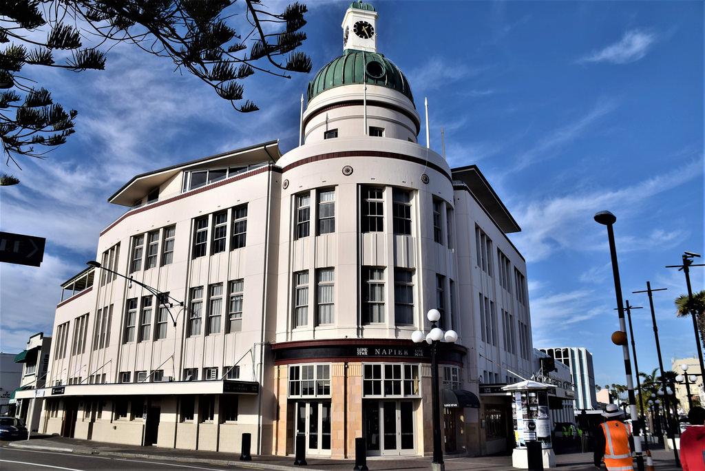 أفضل 10 مناطق للجذب السياحي في نيوزيلندا Napier-Art-Deco