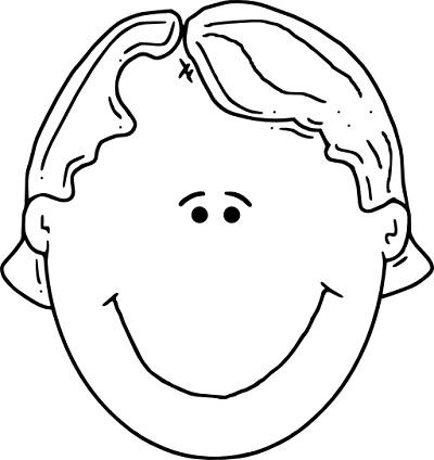 رسم وجه للتلوين Lazcy Blog