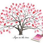 شجرة البصمة جاهزة للطباعة