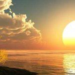 أجمل تصوير لشروق الشمس