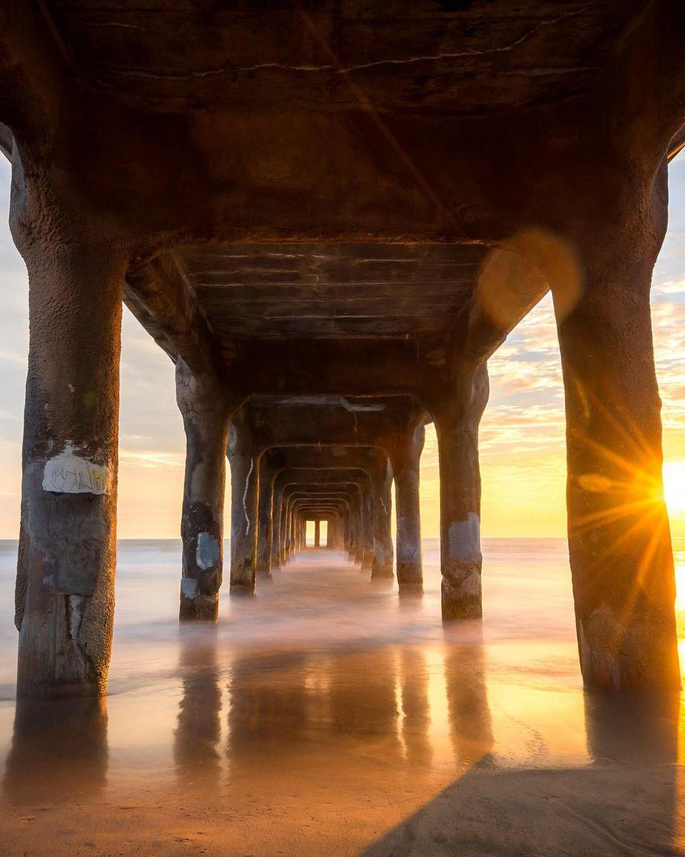 """اجمل صورة """"منظر طبيعي"""" خلابة لوس-أنجلوس."""