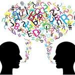 محادثة بين طالب ومعلم باللغة الإنجليزية