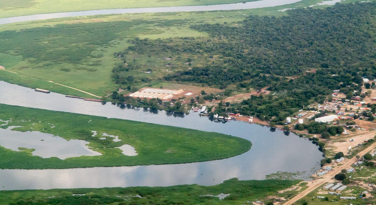 خريطة نهر النيل من المنبع الى المصب موسوعة ورقات العربية