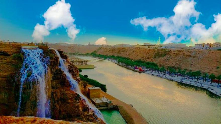 تقرير عن وادي نمار في الرياض المرسال