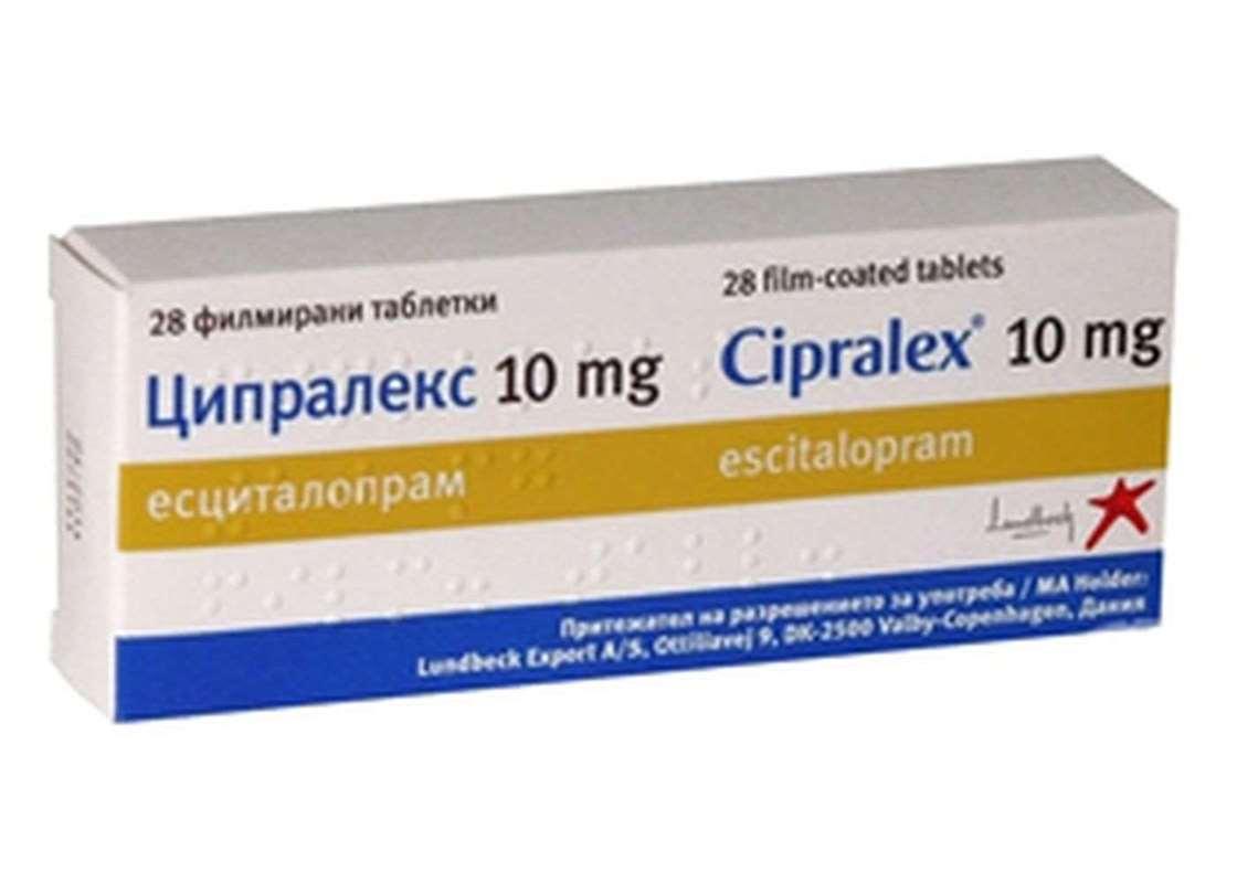 الارشادات و النشرة الطبية لدواء Cipralex 10mg المرسال