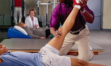 علاج الشد العضلي في الفخذ الامامي و الخلفي المرسال