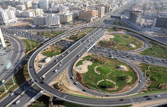 الطرق والمواصلات في المملكة العربية السعودية