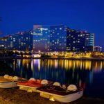 """تعرف على """" جزيرة امواج البحرين """" بالصور"""