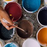 """فن و طرق """" دمج الالوان """" للحصول على لون نادر"""