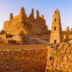 """"""" قلعة مارد """"  من معالم المملكة التاريخية في دومة الجندل"""