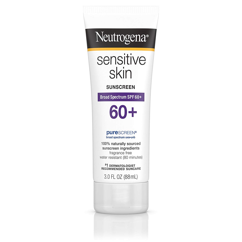 30bb730e6 كريم eutrogena Sensitive Skin Sunscreen Broad Spectrum SPF 60   المرسال
