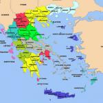 خريطة اليونان بالتفصيل