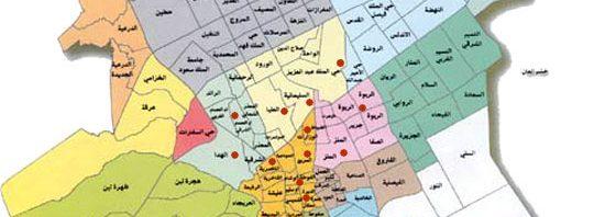 خريطة احياء جدة 2019 Kharita Blog