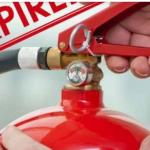 مطوية عن استخدام طفاية الحريق والتاكد من صلاحيتها