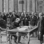 """معاهدة انهاء الحرب العالمية الاولى """" معاهدة فرساي """""""