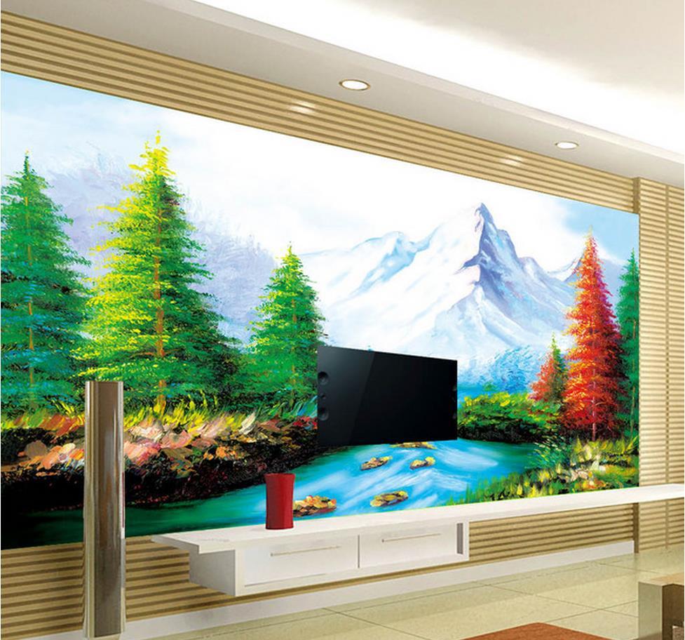 ورق جدران ثلاثي الابعاد 3d موديلات حديثة 2019 المرسال