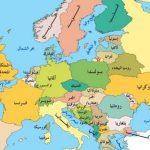 اسماء دول و خريطة اوروبا الشرقية