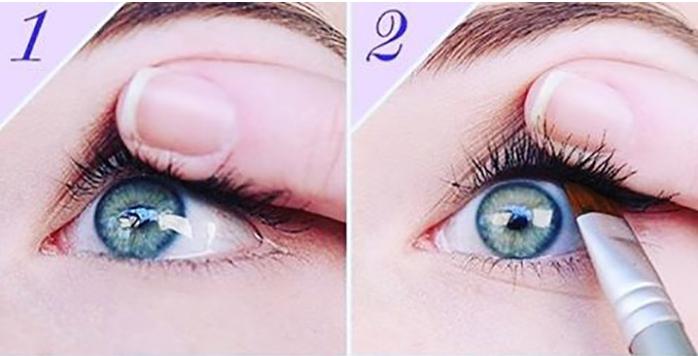 a6248284a6126 الطريقة الخامسة تشديد خط العين العلوي. الطريقة الخامسة تشديد خط العين  العلوي · مكياج سهل لتكبير العيون الصغيرة ...