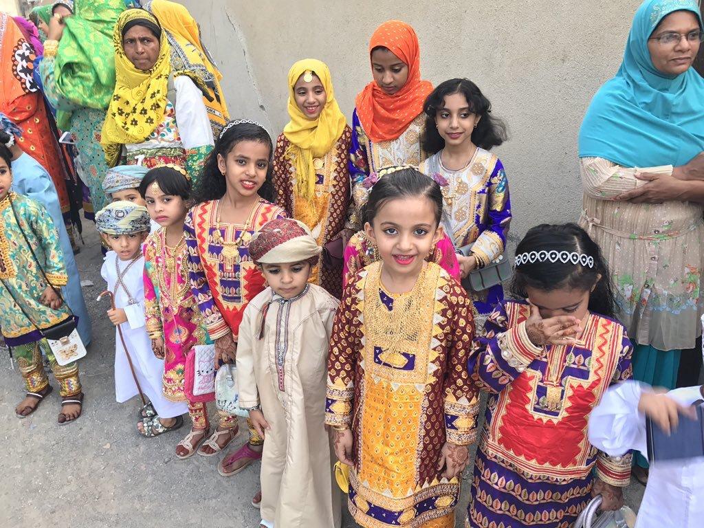 مظاهر عيد الفطر في سلطنة عمان المرسال