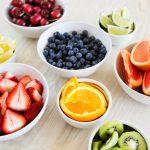 اقل الفواكه سعرات حرارية