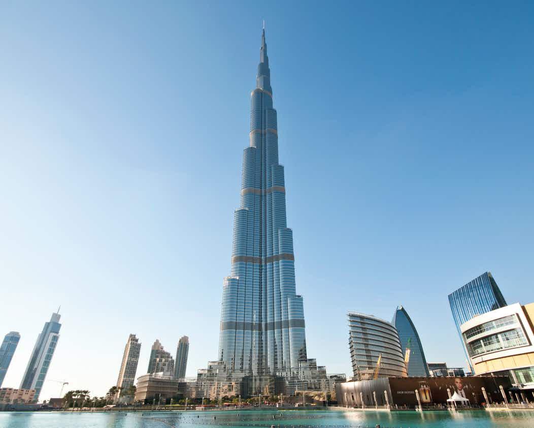 صور مميزة من داخل طوابق برج خليفة في دبي المرسال