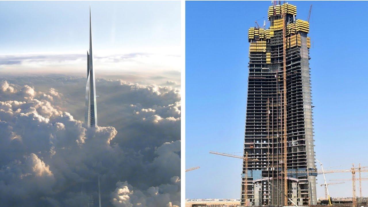 اخر تطورات برج جدة برج الوليد بن طلال المرسال