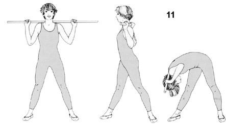 """-لف-الخصر-بالعصا فوائد """" تمارين العصا """" للخصر و تكبير الارداف"""