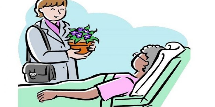 اداب زيارة المريض للاطفال المرسال
