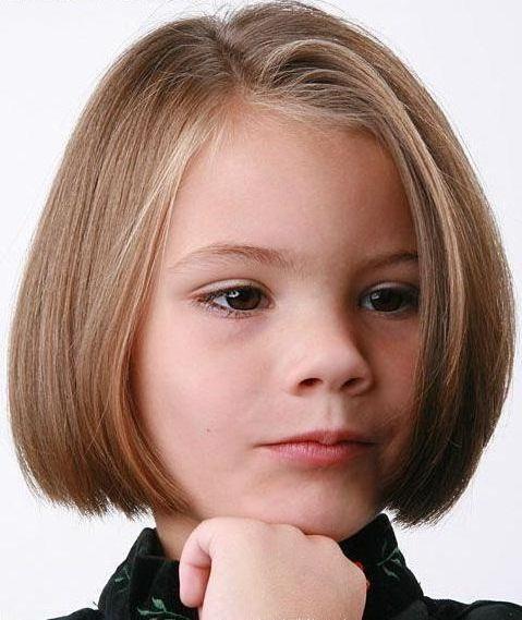قصات شعر قصيرة مدرج بنات صغار