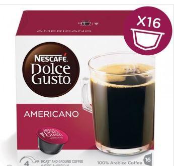 سعر كبسولات دولتشي امريكانو Caffe Americano نستله