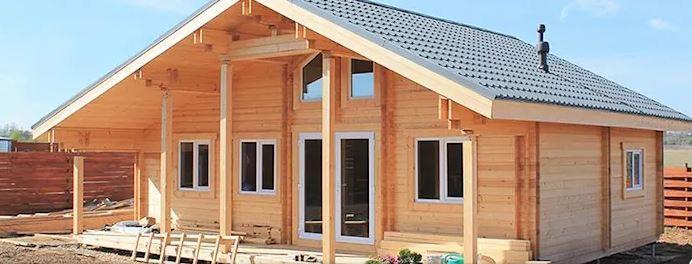 تصاميم اكواخ خشبية