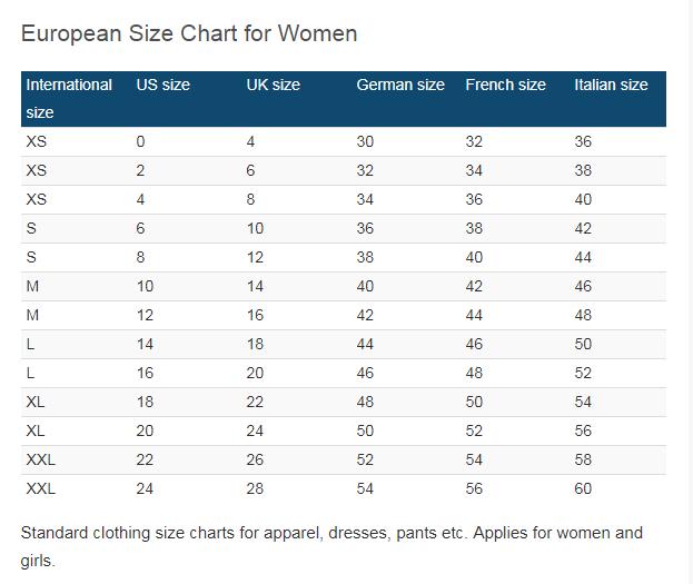 إكليل صياغة قص جدول مقاسات الملابس الحريمى Ballermann 6 Org