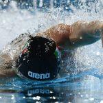 تمارين السباحة الحرة