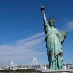 اين صنع تمثال الحرية