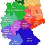 خريطة المانيا بالعربي والمسافات