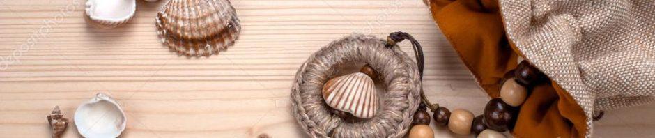 اعمال فنيه من صدف البحر