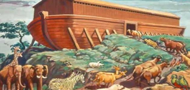 من هم ابناء نوح عليه السلام وكيف حدث الطوفان المرسال