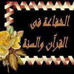 آيات الشفاعة في القرآن الكريم