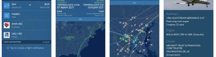افضل تطبيقات تتبع رحلات الطائرات