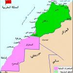خريطة المغرب العربي بالتفصيل