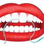 اضرار خيط الاسنان