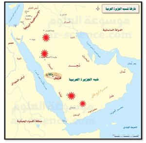 الحضارات القديمة في شبه الجزيرة العربية المرسال