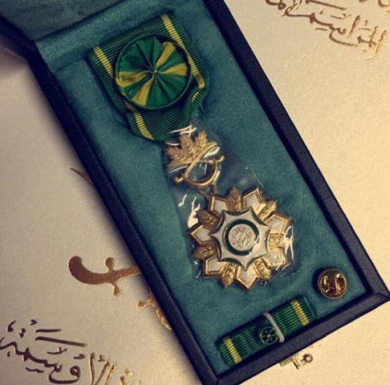 مميزات وسام الملك عبدالعزيز الدرجة الاولى المرسال