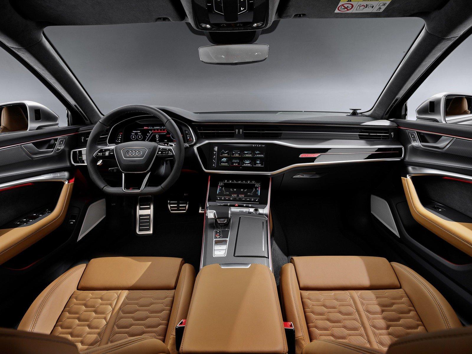 اودي Rs6 2020 اكثر سيارة عدوانية للشركة الالمانية المرسال