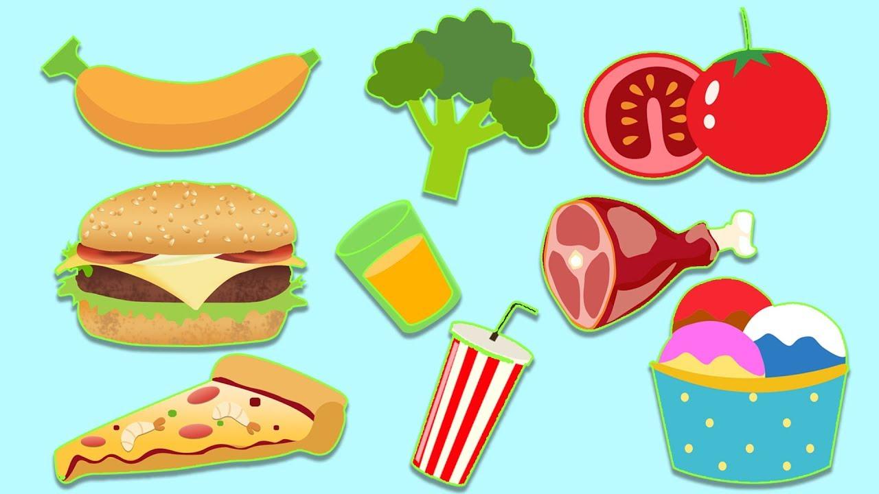 الغذاء الصحي والغير صحي المرسال