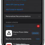 خطوات تحديث التطبيقات في الايفون بعد تحديث IOS 13